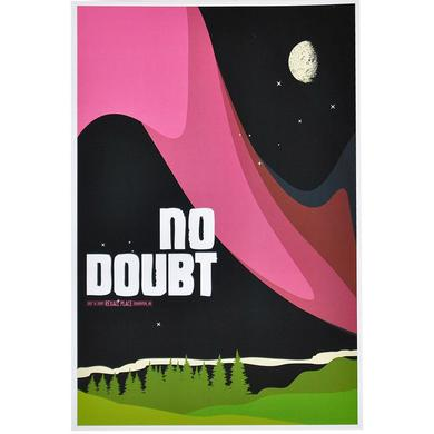 No Doubt Edmonton Show Poster