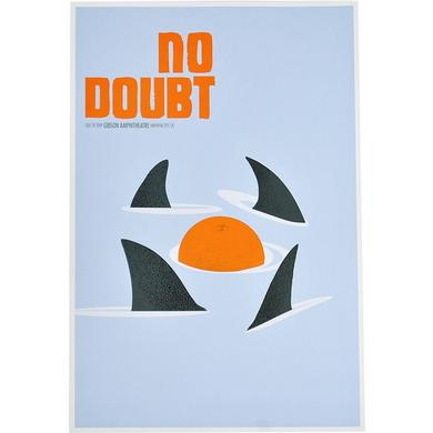 No Doubt Los Angeles Night 3 Show Poster