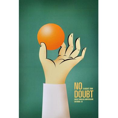 No Doubt San Diego Show Poster