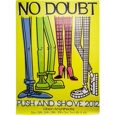 No Doubt Push and Shove Gibson 2012 Poster