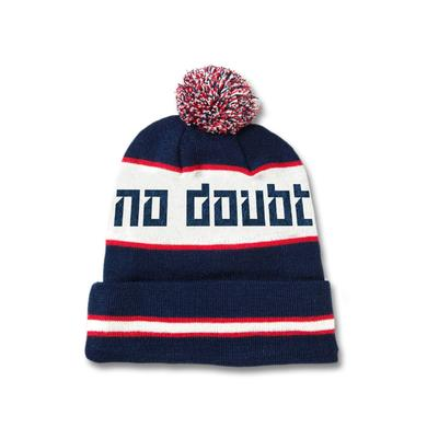 No Doubt Knitted Logo Pom Beanie