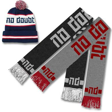 No Doubt Beanie + Scarf Winter Bundle