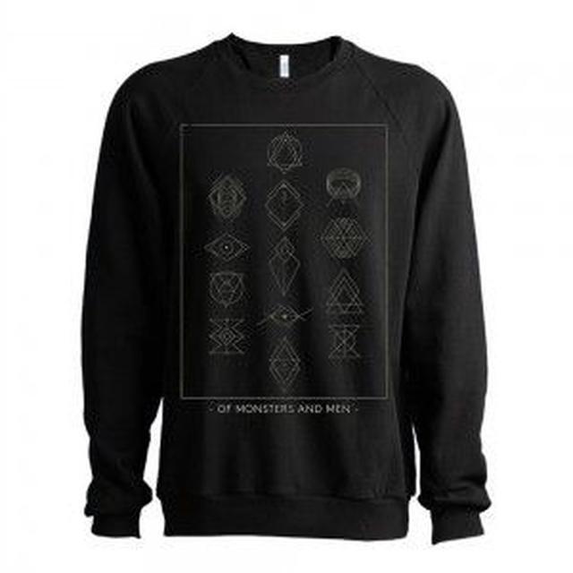 Of Monsters and Men Symbols Men's Crewneck Sweatshirt