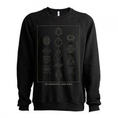 Of Monsters and Men Symbols Men's Crewneck Sweatshirt