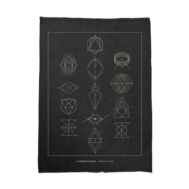 Of Monsters and Men Symbols Black Tea Towel