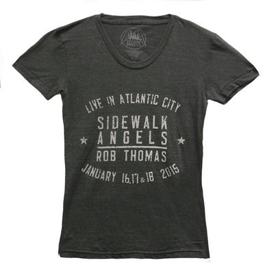 Rob Thomas Live In Atlantic City 2015 T-shirt - Women's