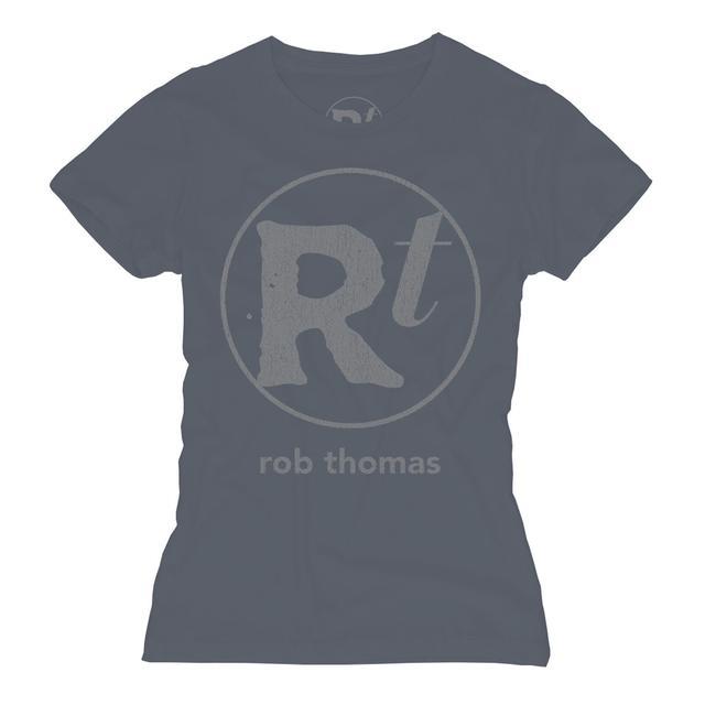 Rob Thomas Blue RT Logo T-shirt - Women's