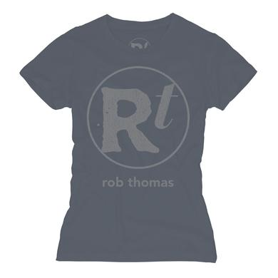 Rob Thomas Blue RT Logo T-shirt - Women's