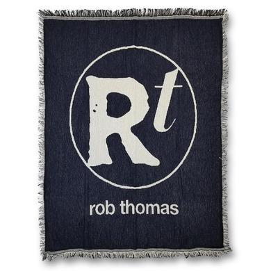 Rob Thomas Logo Woven Blanket