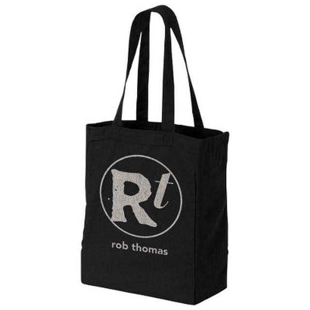 Rob Thomas Logo Black Tote Bag