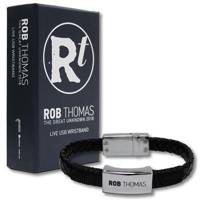 Rob Thomas The Great Unknown USB Wristband