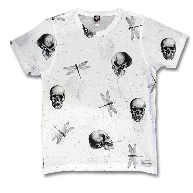 Serpent & Co. Skulls Tee (white)