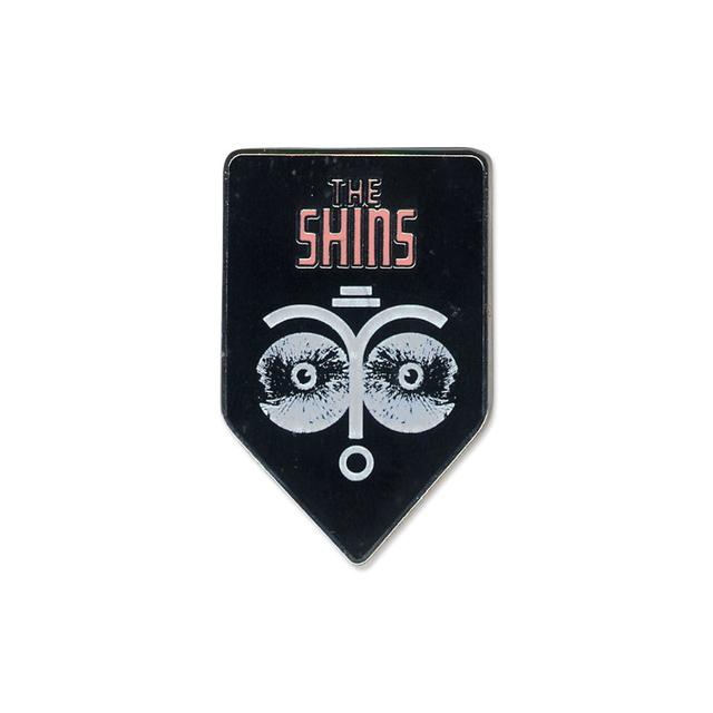 The Shins Face Collage Enamel Lapel Pin