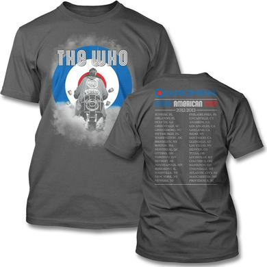 The Who 2013 Smoke Tour T-shirt