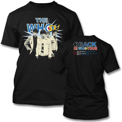 Back To The Who 51 Tour T-shirt