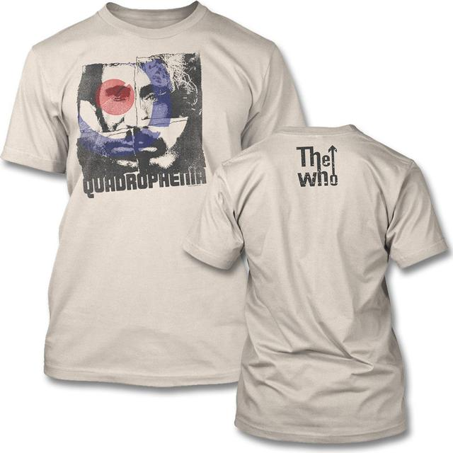 The Who Four Square T-shirt (Natural)