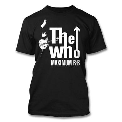 The Who Maximum R & B T-shirt (Black)
