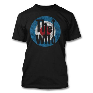 The Who Distressed Classic Target T-shirt