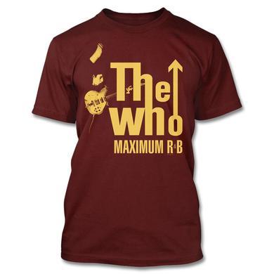 The Who 2016 Tour Exclusive - Maximum R&B T-shirt
