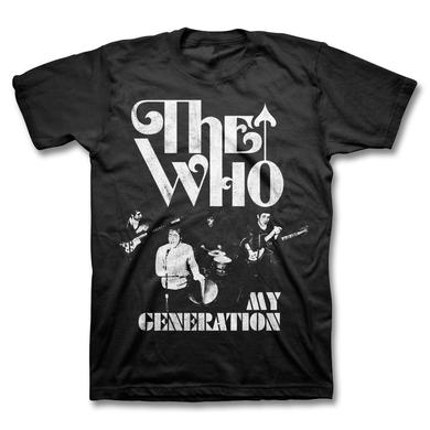The Who My Generation T-shirt (Black)