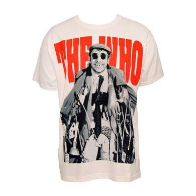 The Who Junkie Men's White Tee