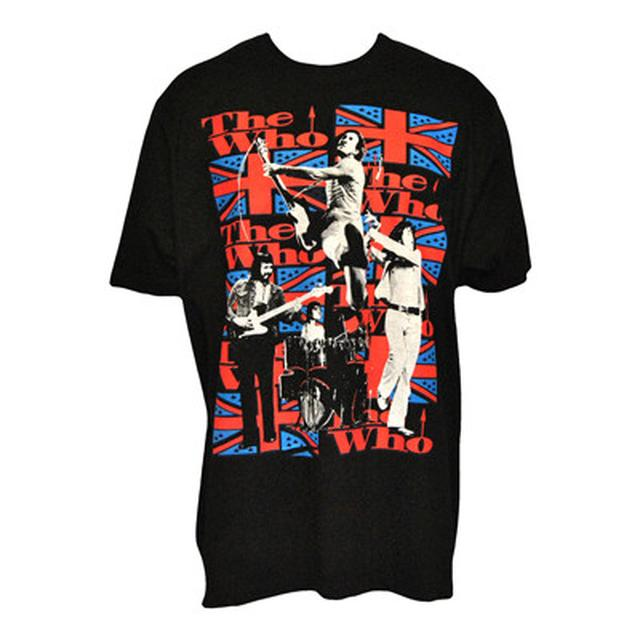 The Who Live Band Flag T-shirt