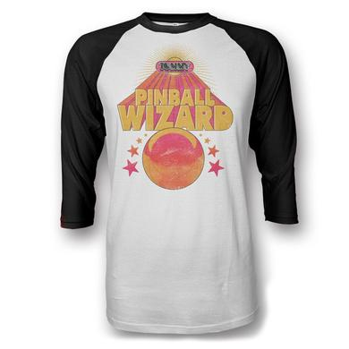 The Who Pinball Wizard 2016 Official Raglan Tour Shirt