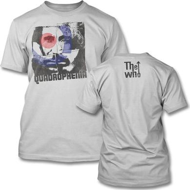 The Who Four Square Slim T-shirt (silver)