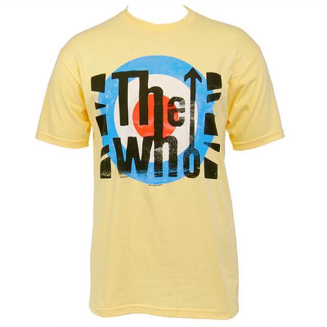 The Who London Flag Slim T-shirt (yellow)