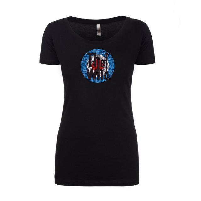 The Who Bling Classic Logo T-shirt - Women's