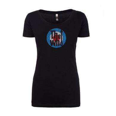 The Who Bling Classic Logo T-shirt - Women's