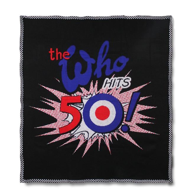 The Who 50th Anniversary Blanket - 2016 Tour Exclusive