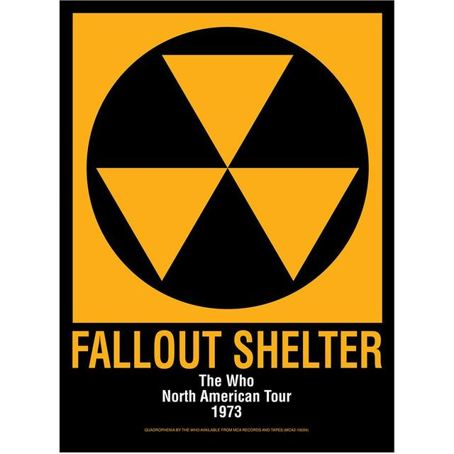 The Who Fallout Shelter Poster