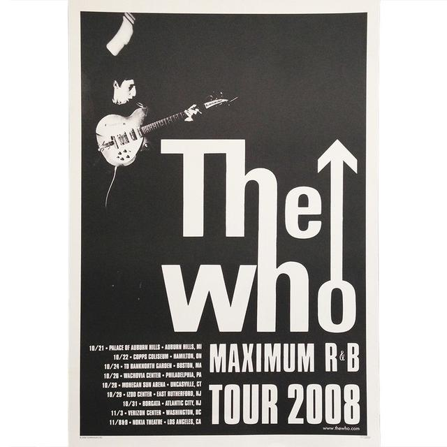 The Who Limited Edition Max R&B Poster