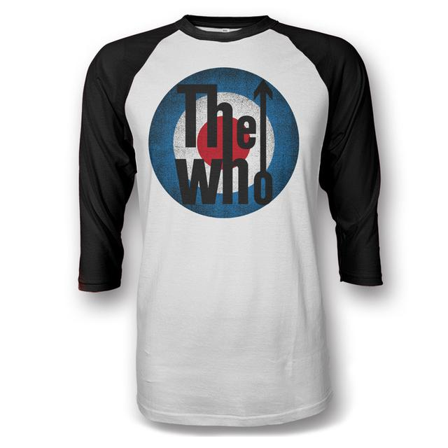 The Who Classic Logo Raglan T-shirt - 2016 Tour Exclusive