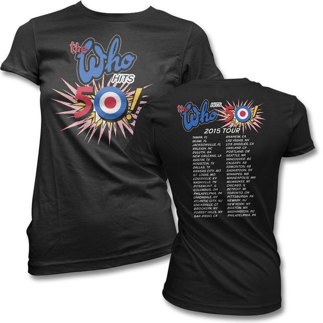 The Who 2015 Tour T-shirt - Women's