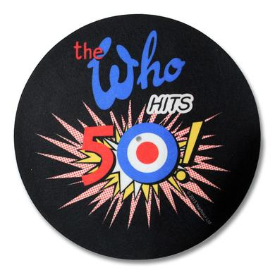 The Who 50th Logo Slipmat