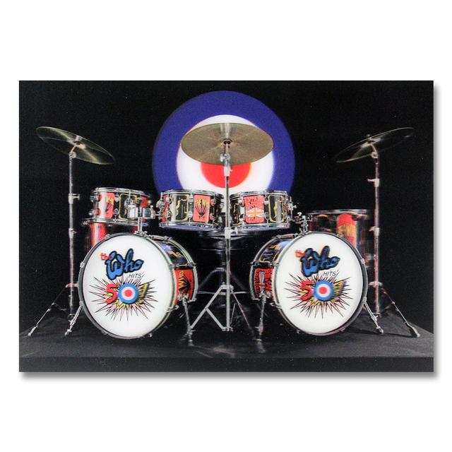 The Who 3D Drumset Photo