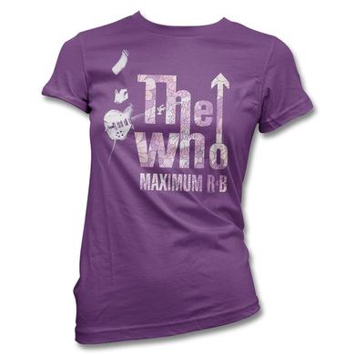 The Who Maximum Flowers T-shirt - Women's