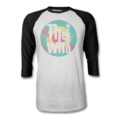 The Who Palm Target Raglan