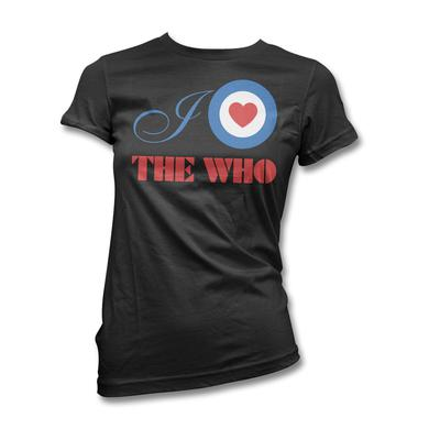 The Who Target Heart T-shirt - Women's