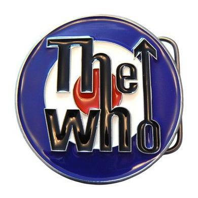 The Who Target Blue Belt Buckle