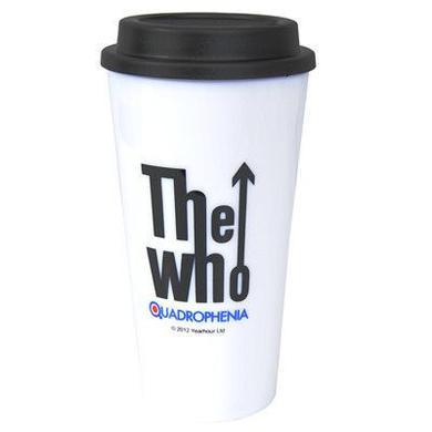 The Who Target White Latte Mug