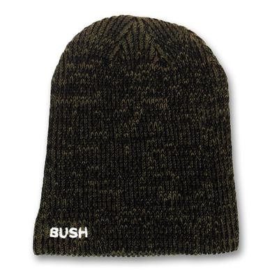 Bush Embroidered Logo Slouch Beanie