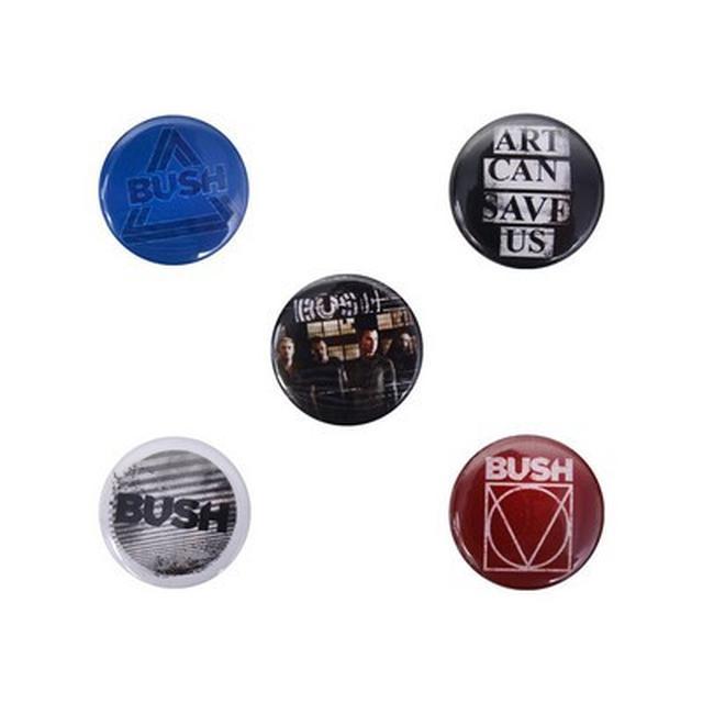 Bush 5-Button Pack