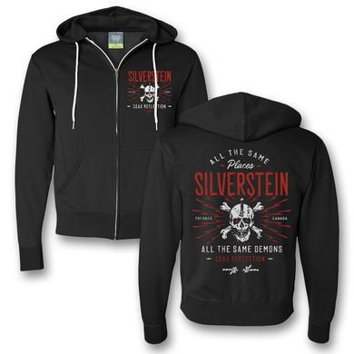 Silverstein Demons Zip Hoodie