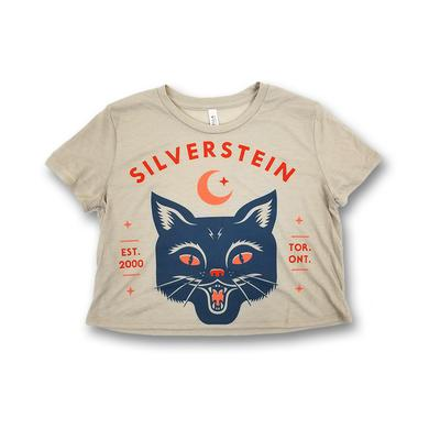 Silverstein Cat Juniors Cropped T-Shirt
