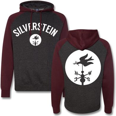 Silverstein Logo Contrast Raglan Hoodie