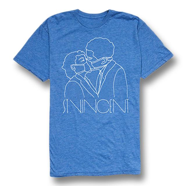 St Vincent Blue Surgeon Tee