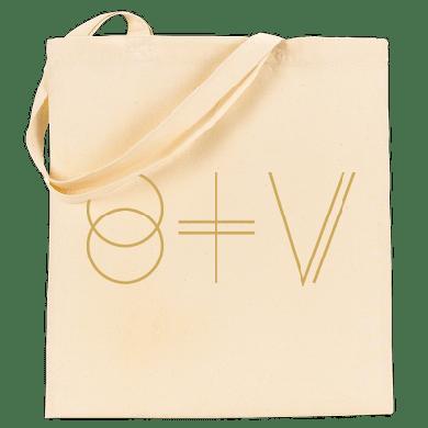 St Vincent STV Logo Tote - Cream